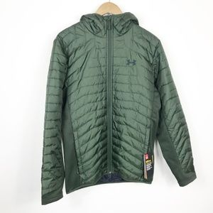 Under Armour ColdGear Reactor Hooded Jacket NWT